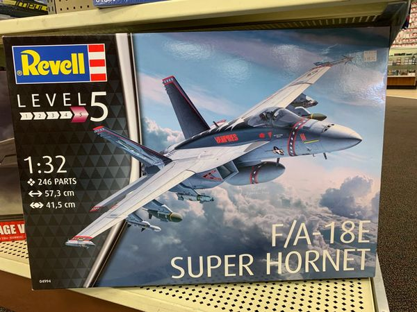 F/A-18E Super Hornet 1/32 (Advanced Level 5)