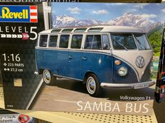 1/16 VW TYP 2 T1 Samba Model (advanced Level 5)