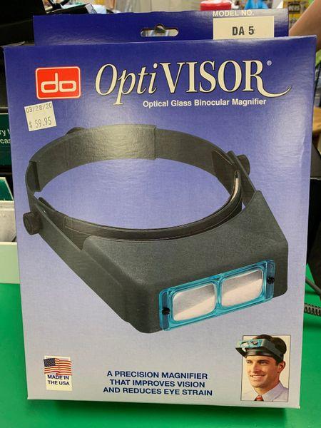 Optivisor w/Lens Plate #5