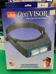 Optivisor w/Lens Plate #4