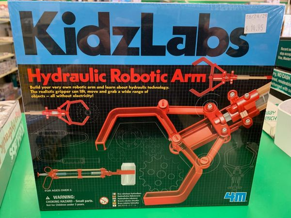 KidzLabs Hydraulic Robotic Arm