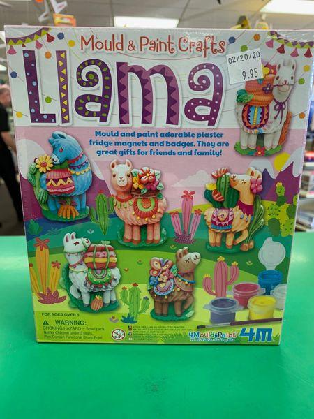 Mould & Paint Llamas Kit