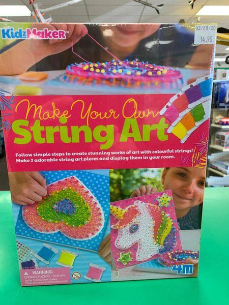 Make Your Own String Art Kit