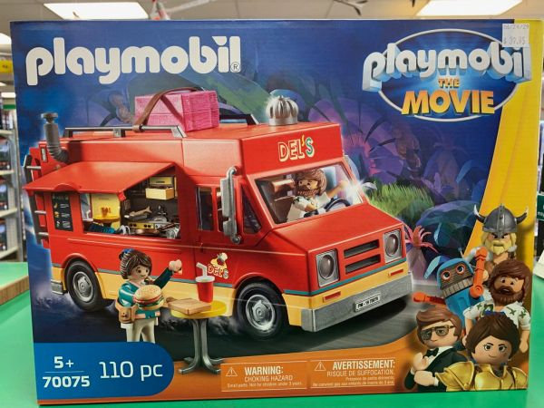 Playmobil The Movie Del's Food Truck 110-piece Set