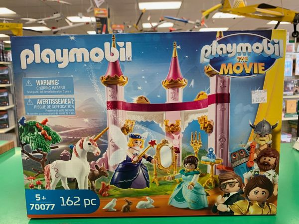 Playmobil The Movie Fairy Land Castle 162-piece Set