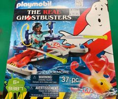 Playmobil The Real Ghostbusters Zeddemore w/Aqua Scooter 37-piece Set