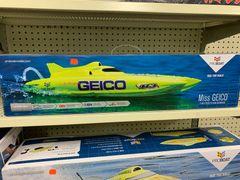 """Miss Geico 17"""" R/C Catamaran Ready-to-Run"""