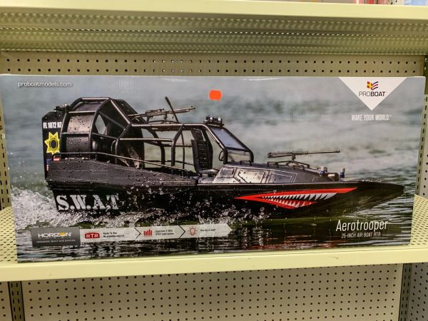 S.W.A.T. Aerotrooper 25 BL R/C Air Boat Ready-to-Run
