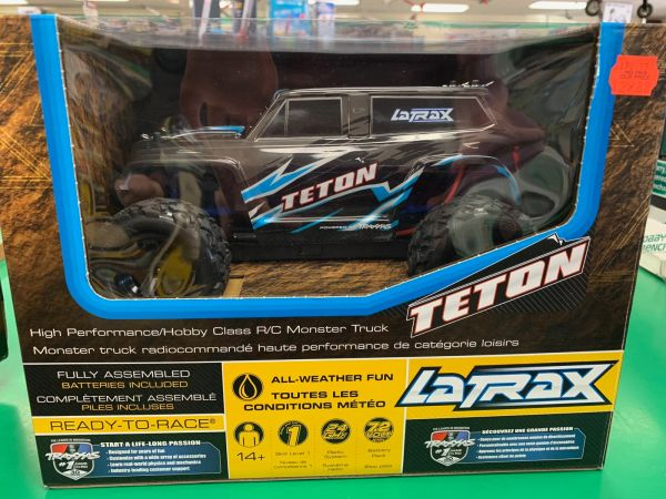 LaTrax by Traxxas Teton 1/18 R/C Car