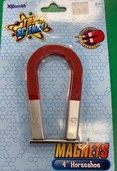 """4"""" Horseshoe Magnet"""