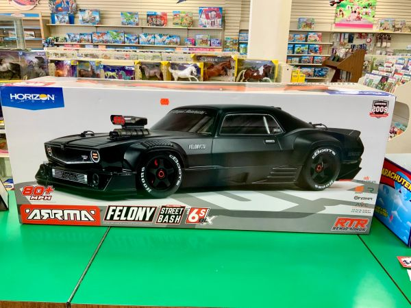 Arrma FELONY All-Road Street Bash 1/7 6S RTR Black