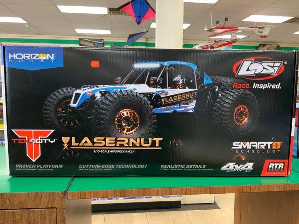 Losi LASERNUT U4 1/10-Scale Rock Racer RTR Blue
