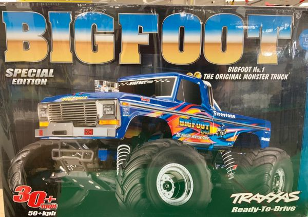 Traxxas 1/10 Bigfoot 2WD Monster Truck Special Edition