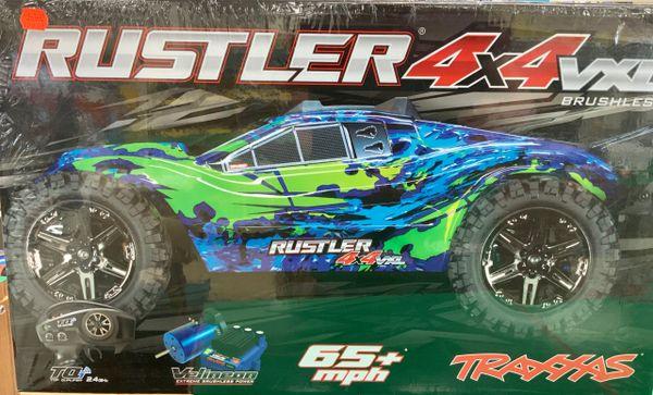 Traxxas Rustler 4x4 VXL Brushless RTR