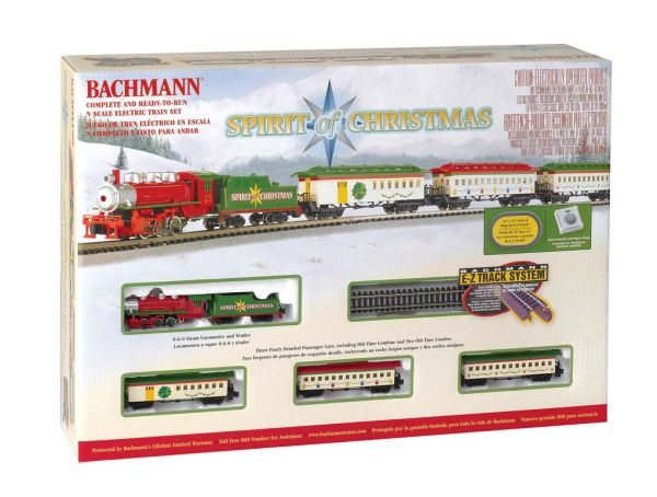 Bachmann Spirit of Christmas N Scale Train Set