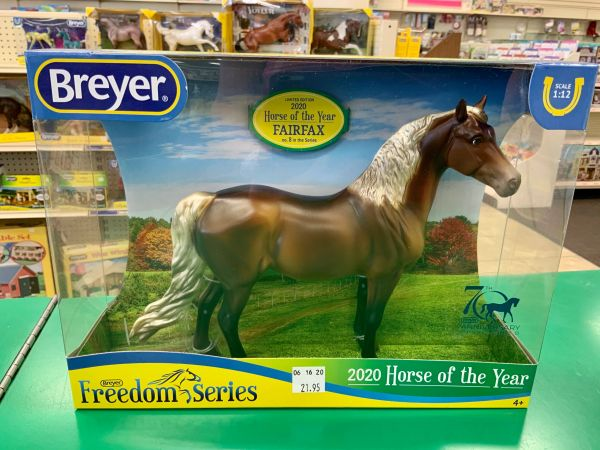 Breyer Horse of the Year 2020 Fairfax