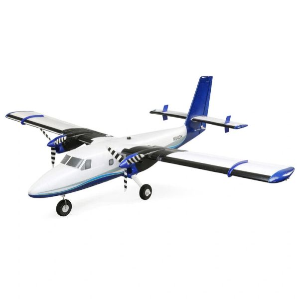 E-flite Twin Otter 1.2M Scale Twin Airplane for Intermediate to Experienced Pilots