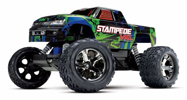 Traxxas Stampede VXL 1/10 Scale 2WD Truck