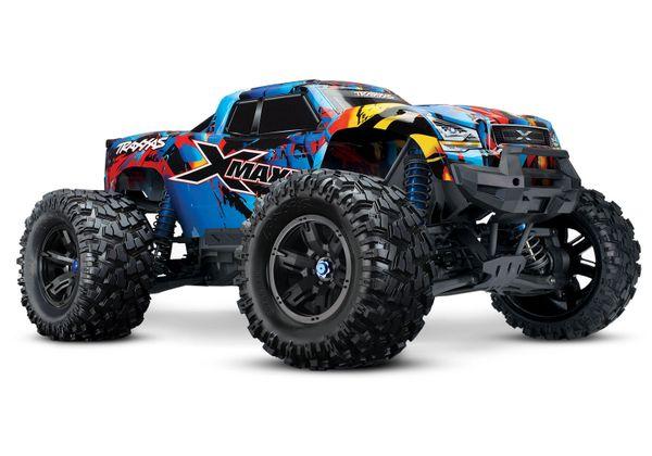 Traxxas X-Maxx 8S 4WD Brushless RTR Monster Truck w/2.4GHz TQi Radio & TSM (TRA77086-4)