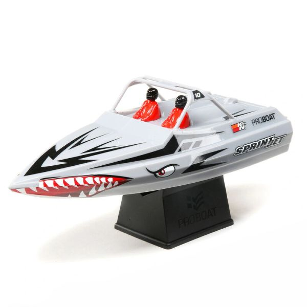 "Sprintjet 9"" Self-Righting Jet Boat Brushed RTR #PRB08045"