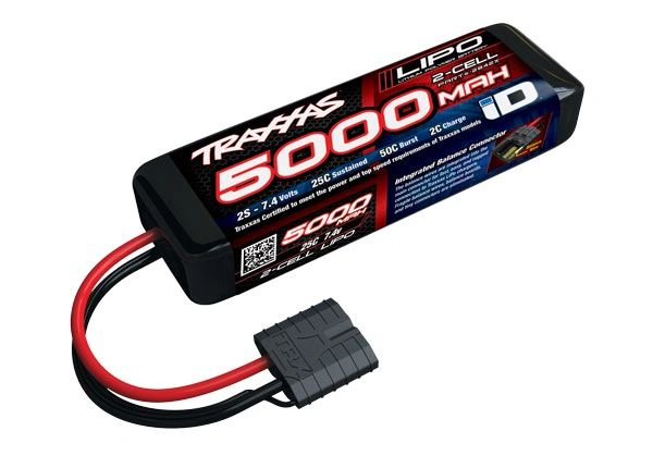 Traxxas 5000mAh 7.4V 2-cell 25C Power Cell Lipo Battery #2842X