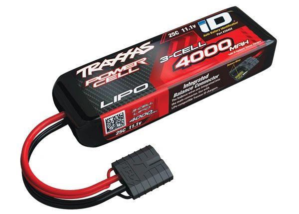 Traxxas 4000mAh 11.1v 3-Cell 25C Power Cell Lipo Battery #2849X