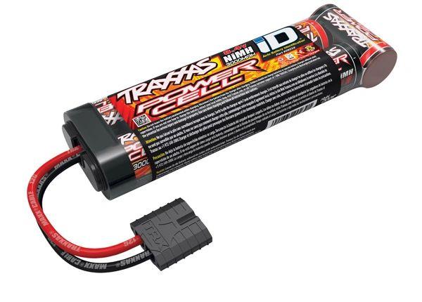 Traxxas Battery, Power Cell, 3000mAh NiMH, 7-C flat 8.4V #2923X