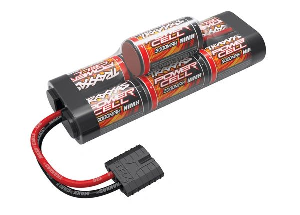 Traxxas Battery Power Cell 3000mAh NiMH 7-C hump 8.4V #2926X