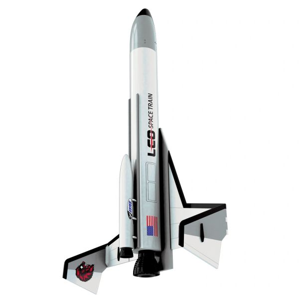 Estes Leo Space Train Rocket Kit #7285