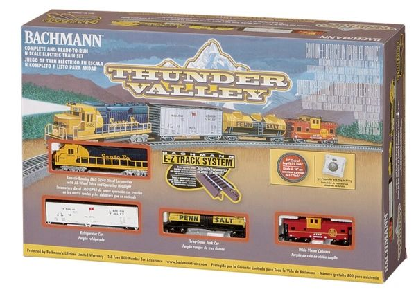 Thunder Valley N Scale Train Set