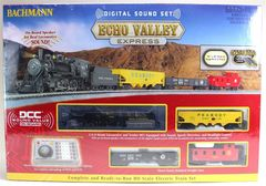 Bachmann Echo Valley Express HO RTR Electric Train Set w/Sound Value Loco (BAC0825)