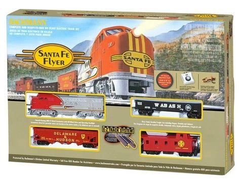 Bachmann Santa Fe Flyer Ho Train Set (BAC0647)