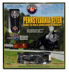 Lionel PENNSYLVANIA FLYER Remote O Scale Train Set (LNL630233)