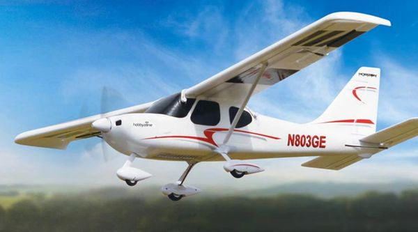 HobbyZone Sportsman S+ Airplane SAFE Ready-To-Fly (HBZ8400)
