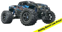 "Traxxas X-Maxx Monster Truck TSM 4WD 1/18 Ready-To-Run 29.8"" (TRA77076-4)"