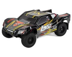 Losi Tenacity SCT RTR 1/10 4WD Short Course Truck Black/Yellow (LOS03010T1