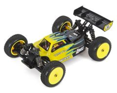 Losi Mini 8IGHT 1/14 Scale 4WD Brushless Electric Buggy RTR Black (LOS01004T2)