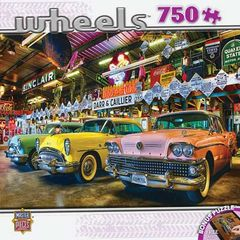 Master Pieces Wheels- Three Beauties 750pc. Puzzle (MSTY1689)