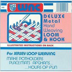 Deluxe Metal Hand Weaving Loom & Hook Set (WOLY0413)