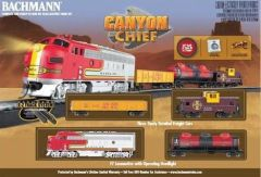 Bachmann Canyon Chief HO Train Set (BACU0740)