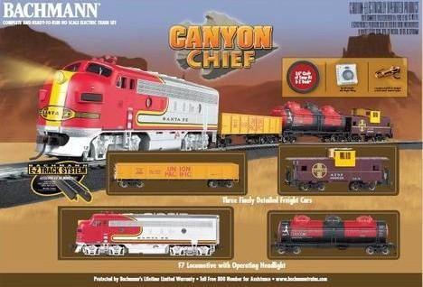 Bachmann Canyon Chief HO Train Set (BACU0740)