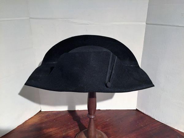 090c2ecd8 Napoleon Style Fur Felt Bicorn Hat