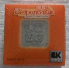 Empunchlar Emboss Insert Love