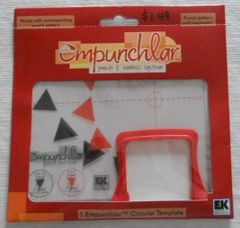 Empunchlar Circular Template Triangle