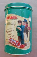 1990 Limited Edition Lifesavers Holiday Keepsake Tin