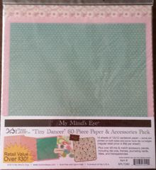Penny Lane Tiny Dancer My Mind's Eye Paper & Accessories Pack