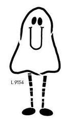 Lasting Impressions L9154 - Long Legged Ghost