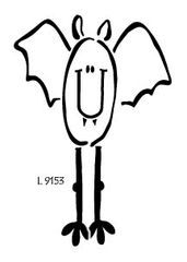 Lasting Impressions L9153-Long Legged Bat