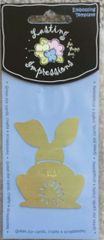 Lasting Impressions S845-Back of Bunny