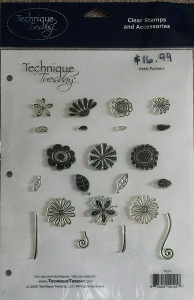 Technique Tuesday-Petal Pushers Stamp Set